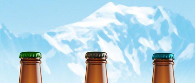 Les bières Mont blanc