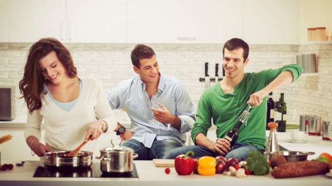 Cuisiner entre amis