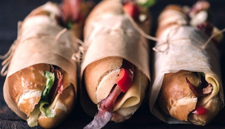 Emballer son sandwich