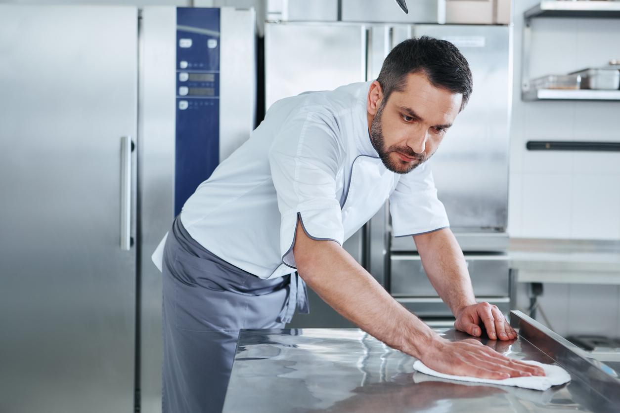 Bien se laver les mains en cuisine
