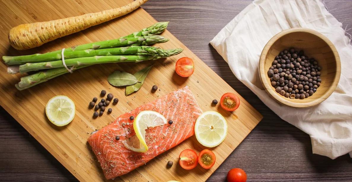 Légumes et poisson pour cuisiner un bon repas