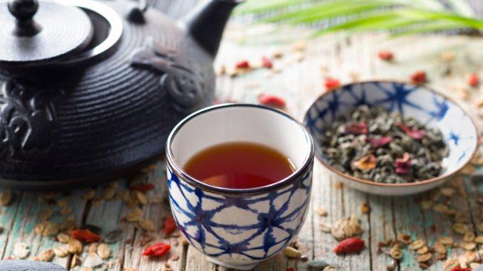 Un service à thé