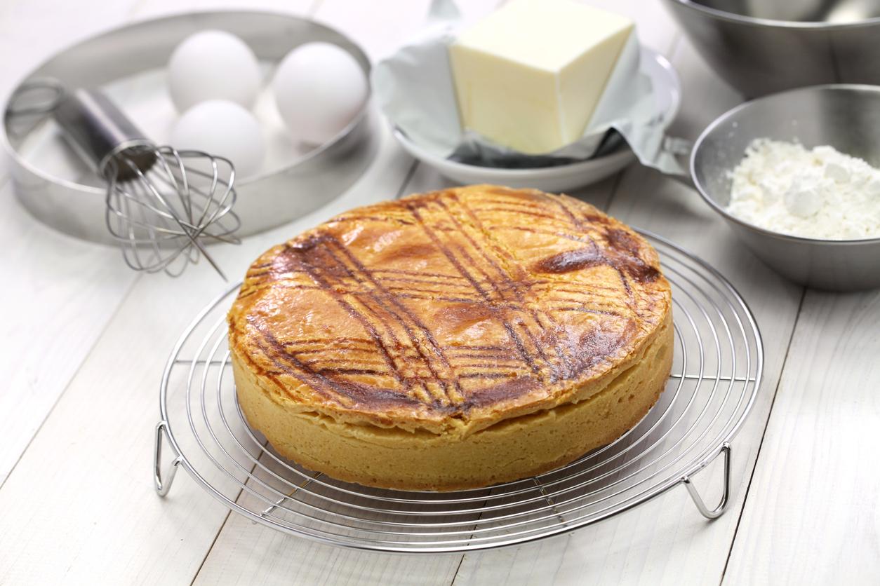 Un gâteau basque