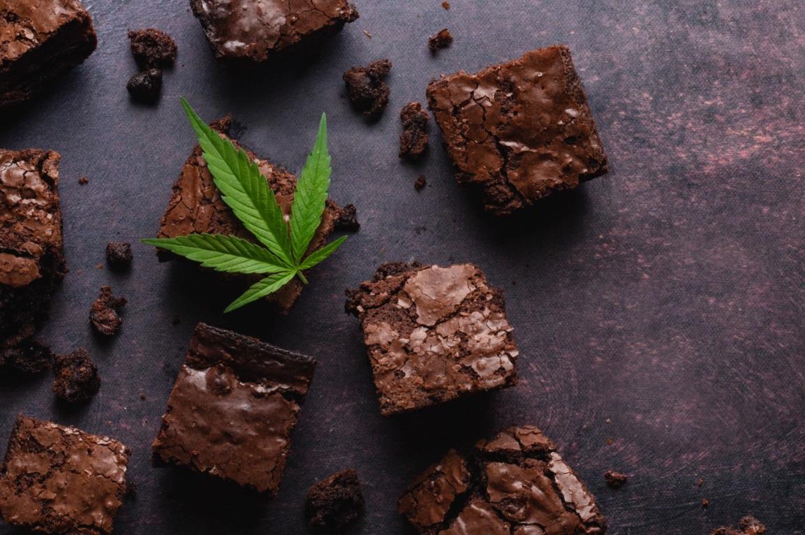 Brownies au CBD